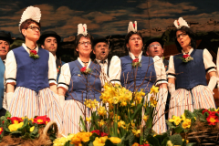 Unsere Jodlerinnen, v.l. Sonja, Margrit, Lydia und Rita